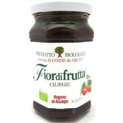 Cherry Jam | Italian | Organic | Rigoni | FiordiFrutta | Buy Online | Food | Ingredients | UK